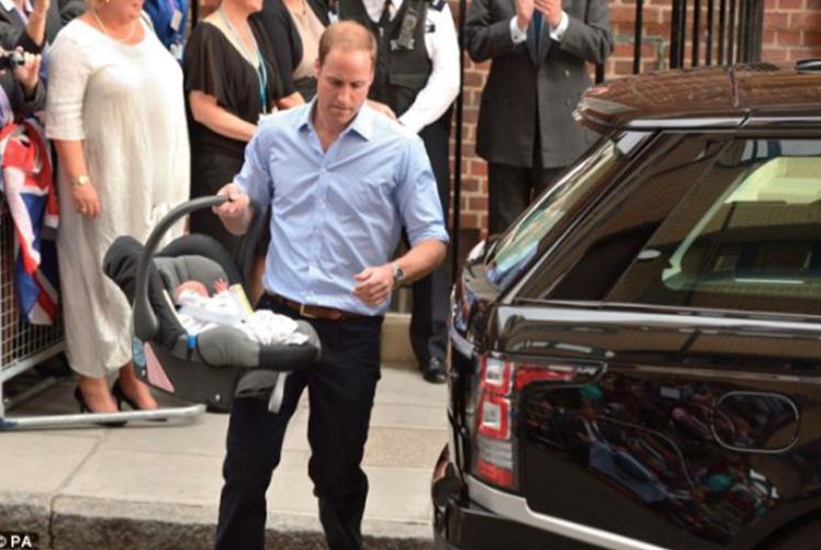 El príncipe William y Kate Middleton eligen Britax